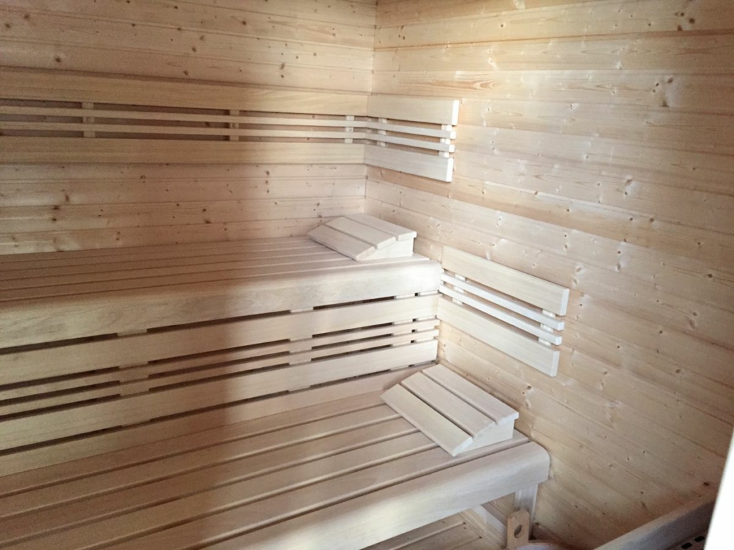 Výstavba sauny