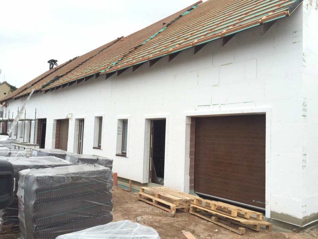 Výstavba řadových domů